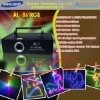Programable stage light 800mW AL-861RGB party laser light