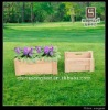 Wooden garden sets /wooden flower barrel/flower planter