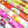 various gift wrapping paper