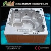 Outdoor hot tub +Massage bathtubs+LED light
