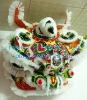 South Lion Dance Lion Head in White Color-Liu Bei Lion