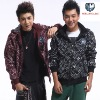 New Fashion Coat Mens Jacket Slim Popular Top Designed Hoody mencloth2blackXL