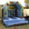 Inflatable space bouncer, inflatable space jump castle, fun time castle