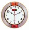 "13"" Racing Car Musical Wall Clock with engine sound"