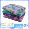 Printed blanket in four design/dubai blanket