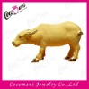 Flocking alluvial gold placer craft animal OX