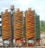 Top quality gold ore mining equipment sluice box in Tanzania