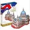 Stereo puzzles 3D paper models toys-st Paul's cathedral