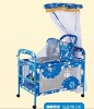 Stainless metal baby/children bed with mosquito net,new sytle,HOT!