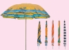 "36""*8 ribs beach umbrella"