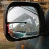 Auto wireless solar powered rear view blind spot mirrors