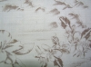 Jacquard cotton viscose fabric
