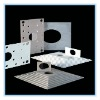Thermal insulation board for rubber and plastic
