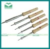 wooden handle industrial soldering iron