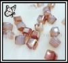 new color square shape crystal beads in bulk