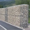wire cage rock retaining wall