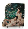sublimation rock slate,Wedding Slate Painting,Natural rock painting