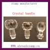 crystal handle &ABS plastic handle