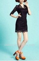 Ladies' lace dress