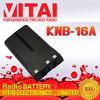 KNB-16A 7.2V 1500mAh Walky Talky Batteries