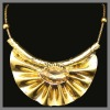 chunky fashion costume jewelry necklace 2012