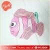 hot sales waterproof polyester foldable shopping bag.fish shape bag