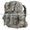 Large capacity travel army hiking camping backpack