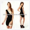 2013 women cocktail dress with sequin panel (20801.#)