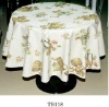 Non-woven back printing french table cloth