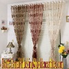 jacquard organza curtain fabric