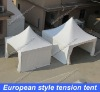 European style tension tent 5mx5m in white or other color