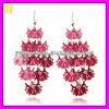Imitation Copper Alloy Owl Charms Drop Earring Models EH-1104