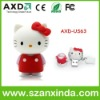Hello Kitty PVC USB Memory for Promotional Gift