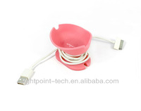 for ipad iphone charging cable winder cable collector