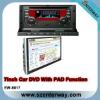 Double din car GPS dvd with Ipad (EW-8817)