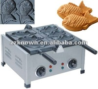 New design fish shape waffle maker with high efficiency