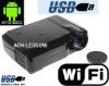 "Android 4.0 HD LED Projector ""Smart beam""Built-in WIFI wireless network 2800 Lumens Native Resolution 1280x800"
