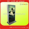 55Floor Standing LCD Indoor Digital Signage
