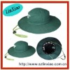 green color men designer bucket hat