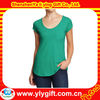 women's scoop neck pocket tshirts