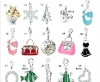 Assorted jewelry charms for jewelry making