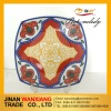 hot sale ceramic dishes plates with decal