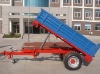 2 tons tractor rear/side dump trailers