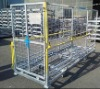 2 m gridding folding logistics trolley