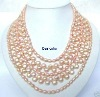 Necklace for dressing (FOR PARTY WEDDING )MADE OF PINK PEARL