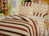 32*32/78*65 100%cotton printed 4pc bedding sets(2pc pillow case,1pc flat sheet,1pc quilt cover)
