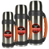 insulated vacuum stainless steel double wall travel thermos flask