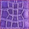 Purple Crocodile Coated Non Woven Fabric for Bag