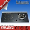 2012 new commercial induction cooker with gas stove model EG-H702
