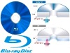 Blank Blue Ray DVD Disk